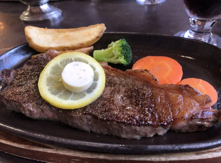 肉の神明/さくら市のステーキ