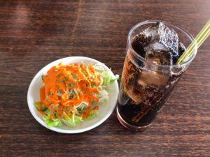 アルナパレスの不思議サラダ