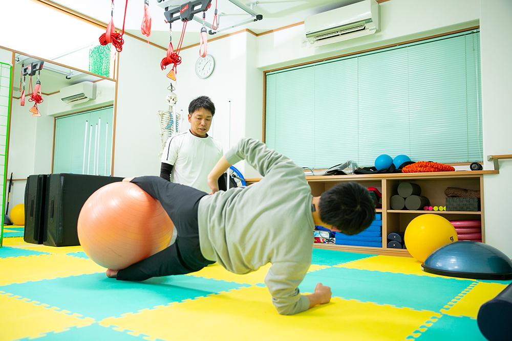 体幹トレーニング(中学生・高校生)栃木